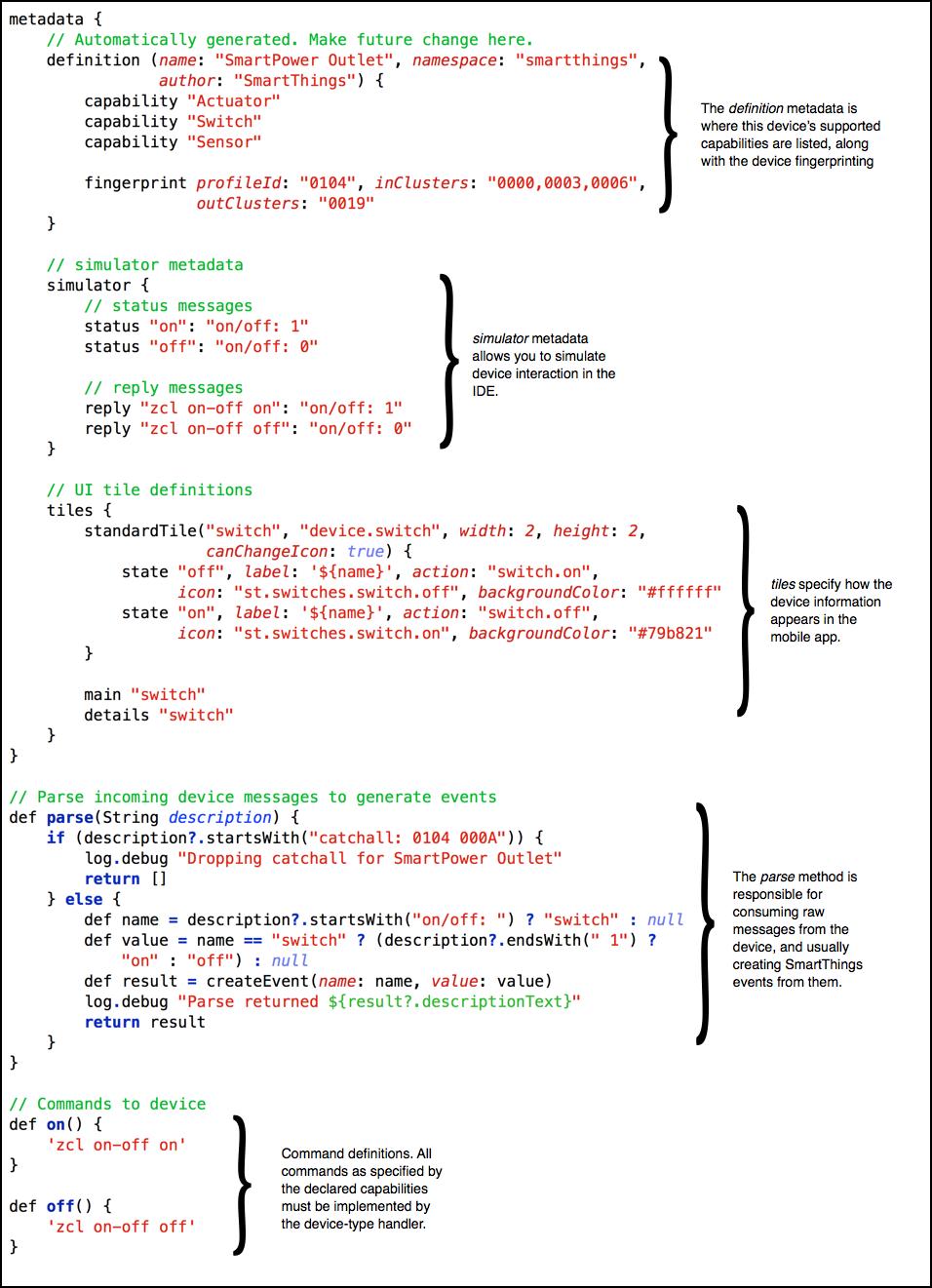Quick Start — SmartThings Documentation 1 0 documentation
